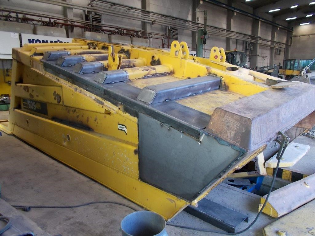 Reconditioning of the dumper body