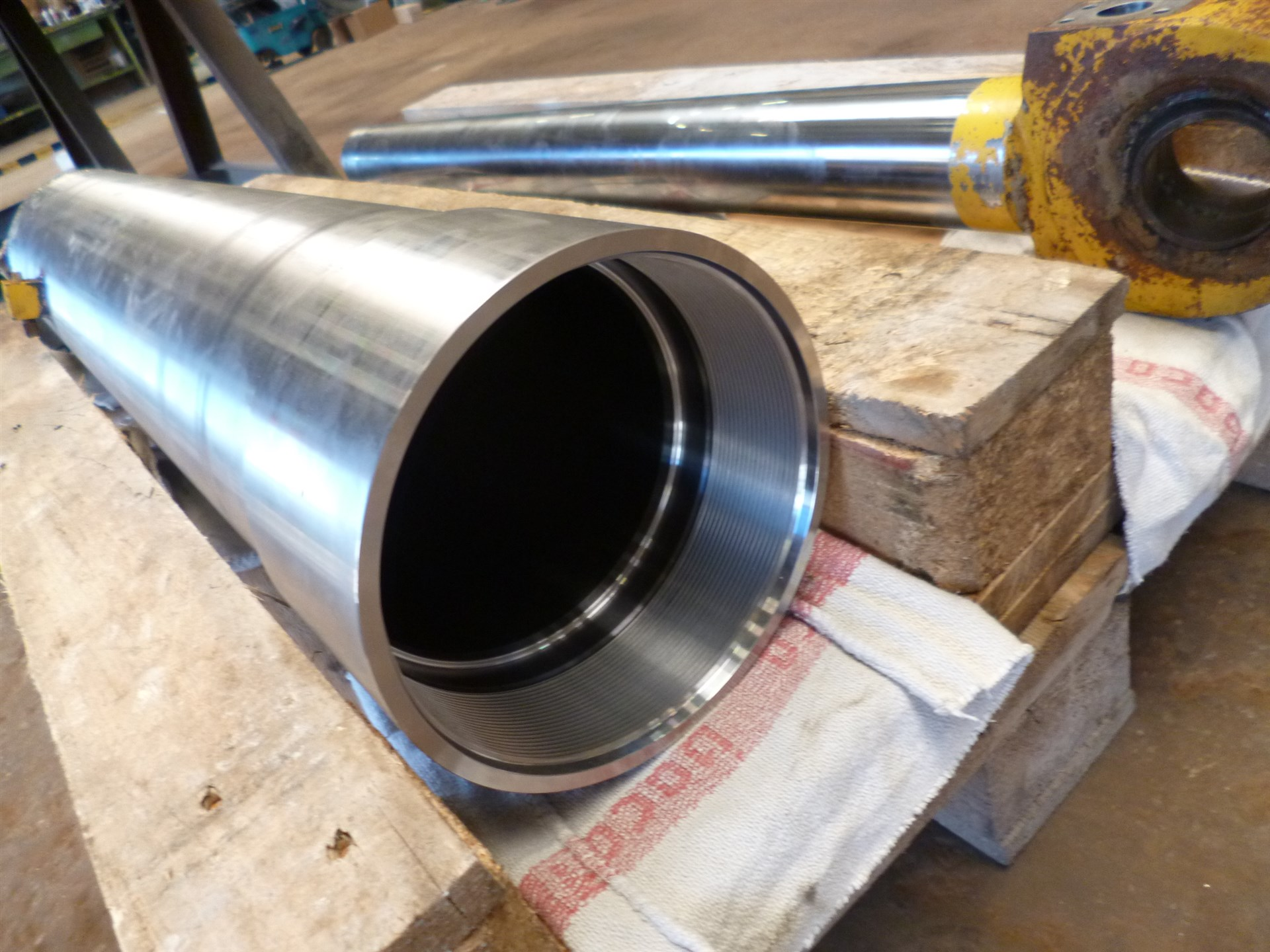 Repair of the hydraulic cylinder
